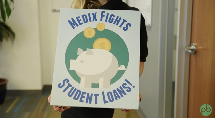 Medix fights student loans